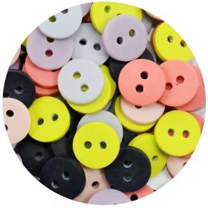 Botão Arthur 11546 - Colorido