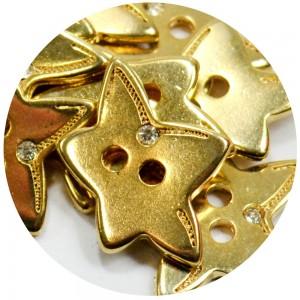 Estrela com Strass 16079