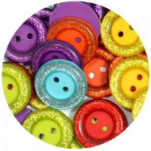 Botão Heloise 11607 - Mix Arco-íris