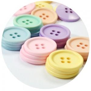 Botão Lara 11001 - Mix Pastel