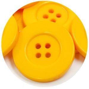 Botão Paris 11029 - Amarelo
