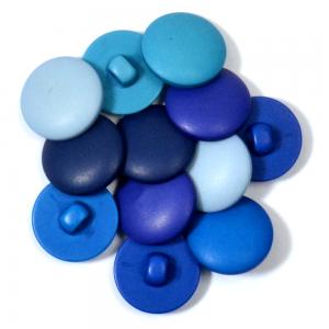 Botão Sarah 11272 - Mix Blue