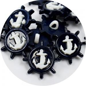 Botão Âncora 38478 - Azul Marinho