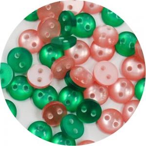 Botão Tatiana 11675 - Colorido