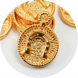 Pingente Ferradura 26198 - Ouro