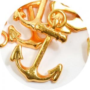 Pingente Âncora 26203 - Ouro
