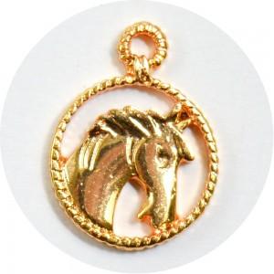 Pingente Cavalo 26196 - Ouro