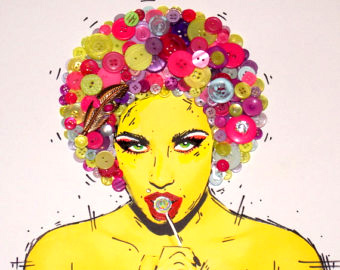 Arte em botões com Tracy Greer