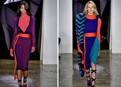 Confira as principais cores da semana de moda de NY!